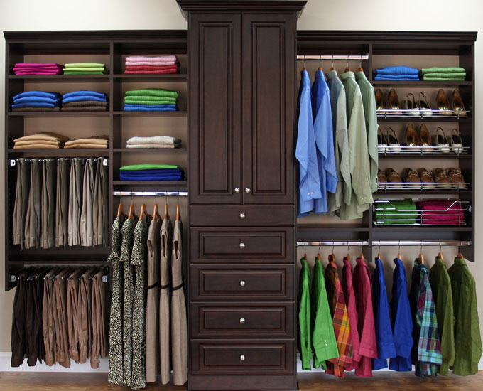 Chicagoland custom closets closets storage for How to design closet storage