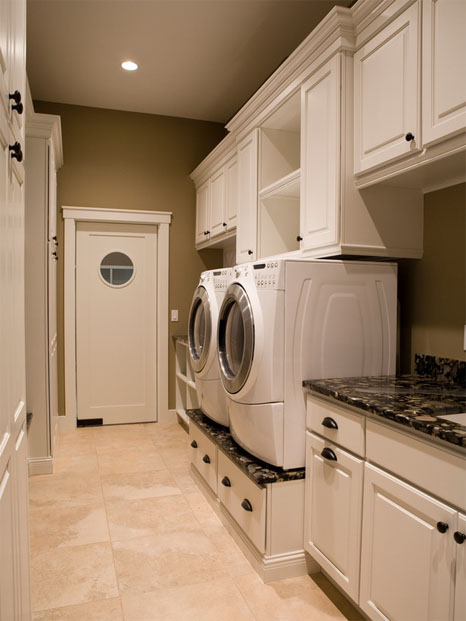 Chicagoland custom closets laundry rooms for Laundry room cabinets ideas