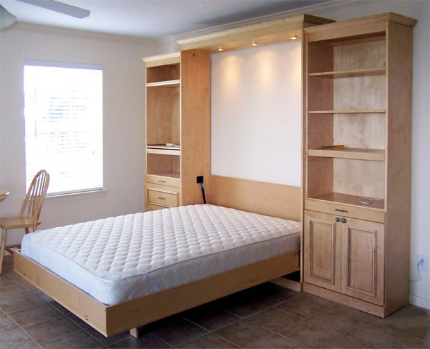 Chicagoland custom closets wall beds for Bed wall design